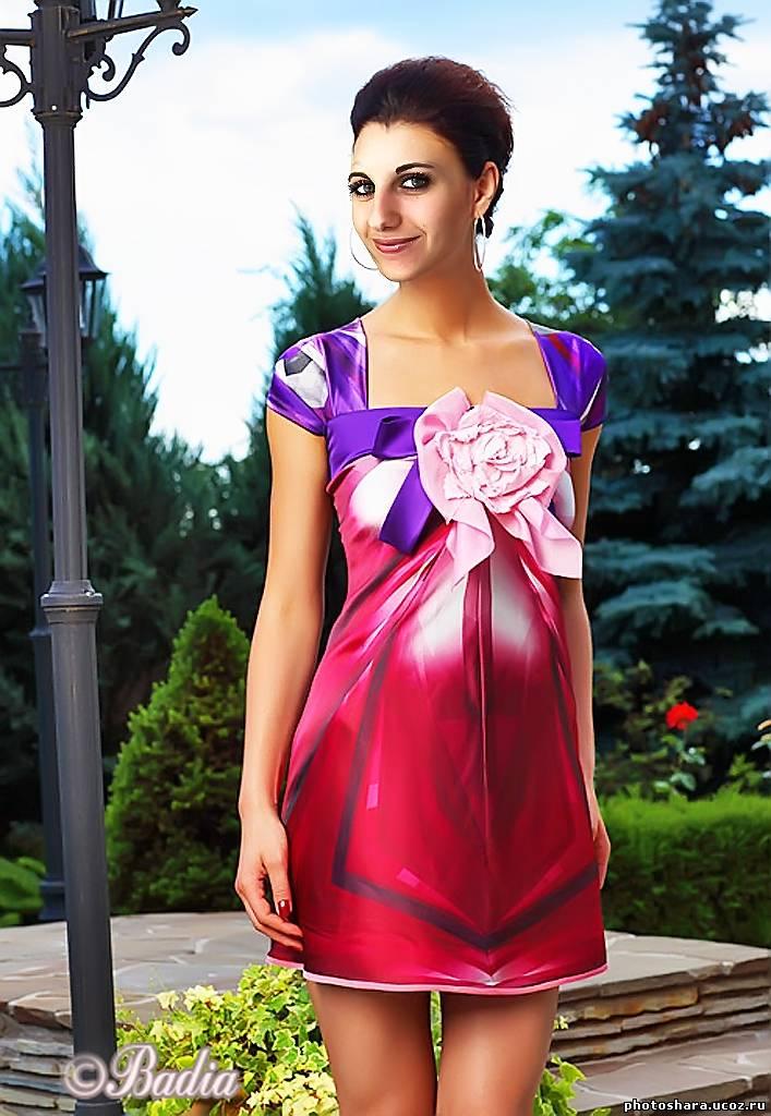 выкройка платья трикотаж французский